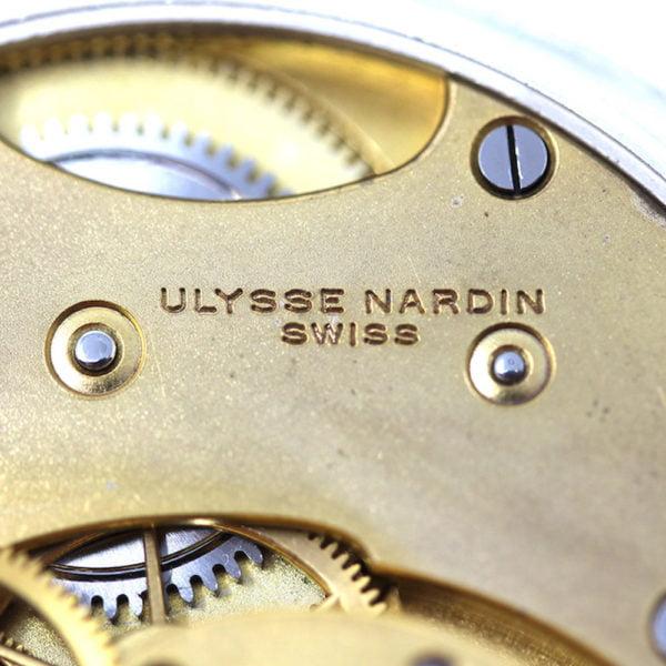Ulysse Nardin military ministry of defence chronometer pocket watch